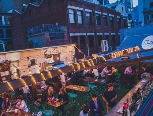 Campari House Rooftop Bar Saturday Night Drinks