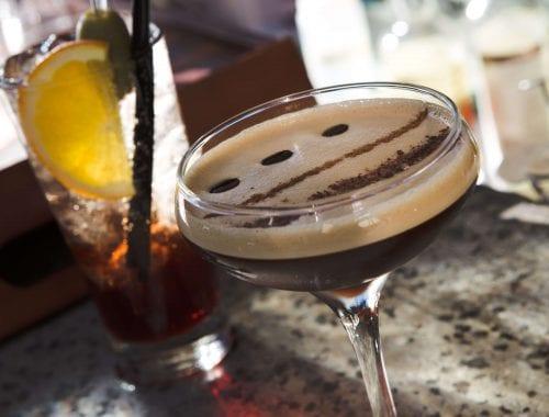 bar at Campari Restaurant