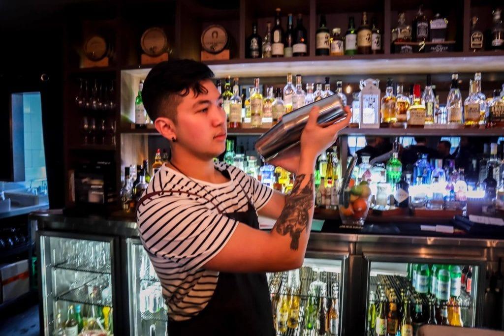 cocktail bar in Melbourne